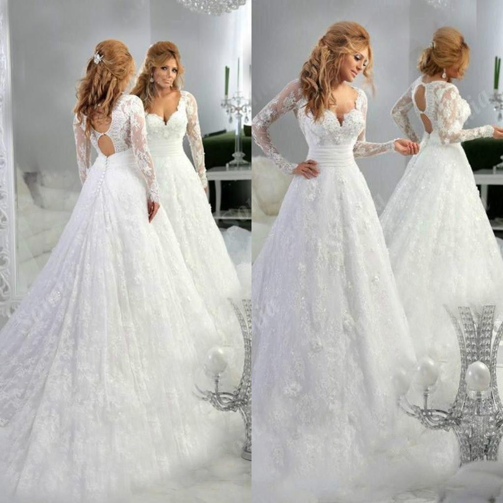 Покупка свадебного  в салонах